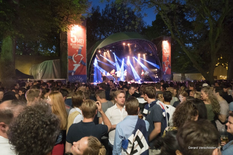 bevrijdingsfestival, Hunnerpark. Nijmegen, 5-5-2018 .
