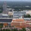 "\""Nijmegen, 17-7-2012 . Luchtballon vlucht. Radbouduniversiteiet en UMC\"""