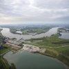 "\""Nijmegen, 17-7-2012 . Luchtballon vlucht. Ooij\"""