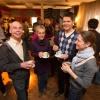 "\""Sfeerfoto van netwerkbijeenkomst Open Coffee met Dukenburgse ondernemers. In ieder geval op foto: Michiel Klaarwater (oprichter en organisator en kortharig...). . Nijmegen, 21-2-2013 . dgfoto.\"""