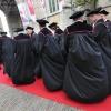 90 ste Dies Natalis Radbou universiteit. Nijmegen, 24-5-2013 . met cortege en eredoctoraten voor Freeman, Ashcroft en Robert Dijkgraaf