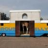 Circus op de Waalkade met tijgers, kamelen en kamelen. Nijmegen, 17-6-2013 . dgfoto.