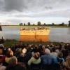 Batenburg, Locatie aan de Oude Maas, Voorstelling Ruinetheater Batenburg, 29-6-2013 . dgfoto.
