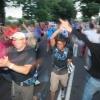 Start 4de dag op de Coehoornstraat. Zomerfeesten, Vierdaagsefeesten, Vierdaagse, Nijmegen, 19-7-2013 . dgfoto. stefan roy