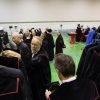 Opening academisch jaar, Radboud Universiteit met jana schraa en Dimitri Verhulst. Nijmegen, 3-9-2013 . dgfoto.