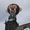 Luchtballon bij Stevenskerk. Nijmegen, 18-8-2013 . dgfoto.