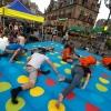 Twister bij introductie HAN. Nijmegen, 29-8-2013 . dgfoto.