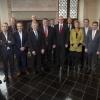 College wethouders en burgemeesters van Nijmegen en Duisburg. Nijmegen, 12-11-2013 . dgfoto.