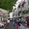 Rommelmarkt benedebstad vleeshiuwestraat, . Nijmegen, 15-09-2013 . dgfoto.