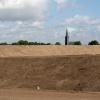 Dijkomlegging krijgt zichtbare vorm in Lent. Nijmegen, 16-9-2013 . dgfoto.