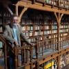 Arjen Speekenbrink, mastercoordinator masteropleiding leraar Nederlands in Bibliotheek Berg en Dalseweg. Nijmegen, 19-9-2013 . dgfoto.