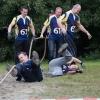 Kampioenschap touwtrekken Ressen, Bemmel, Rugby de oude Meesters en Underover., 20-10-2013 . dgfoto.