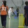 Quick 1888 begint met crickettraining voor de jeugd. Sasa Br?ning is de trainster . Nijmegen, 5-2-2014 . dgfoto.