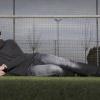 Paul de Wit is doelman van Angeren en meer dan twee meter lang. Huissen, 20-2-2014 . dgfoto.