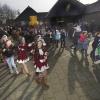 Huissteden 1401 (basisschool t Palet). carnaval feestelijke aftrap carnavalsweek Wijchen, 24-2-2014 . dgfoto.