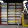 Marienburg, In de bibliotheek wordt Poeziecentrum Nederland ingericht. Afspraak met Wim van Til.. Nijmegen, 3-4-2014 . dgfoto.