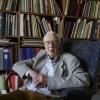 Guus Jeurissen op de foto bij zijn ansichtkaartencollectie voor editie Arnhem. Nijmegen, 14-4-2014 . dgfoto.
