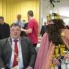 Keizer Karel meets burgemeester Hubert Bruls, Valkhofkapel. Nijmegen, 30-3-2014 . dgfoto.