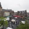 Drukte op de markt, Paasmarkt in het centrum. Nijmegen, 21-4-2014 . dgfoto.
