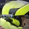De Nijmeegse motoragent Roy Willemse heeft veel los gemaakt met zijn inmiddels tienduizenden keren bekeken helmcamerafilmpje (waarin te zien is hoe hij met hoge snelheid op weg gaan naar een spoedmelding).. Nijmegen, 5-6-2014 . dgfoto.
