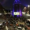 Voetbal Nederland Brazilie, bij LUX, Vierdaagsefeesten, Zomerfeesten, Vierdaagse. Nijmegen, 13-7-2014 . dgfoto.