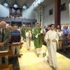 Vierdaagsemis, kerkdienst, in de Molenstraatkerk. Vierdaagsefeesten, Zomerfeesten, Vierdaagse. Nijmegen, 13-7-2014 . dgfoto.
