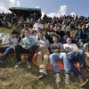 Vriendengroepen op Kermis Gendt bij de schutterij, 23-8-2014 . dgfoto.