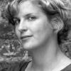 Ni?a Weijers (1987, Nijmegen), die afgelopen jaar als schrijfster doorbrak met haar roman De Consequenties. Nijmegen, 10-9-2014 . dgfoto.