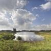 K3delta, over de hoogwaterwerkzaamheden in de Millingerwaard. Millingen, 11-9-2014 . dgfoto.