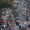 Market Garden, via de Berg en Dalseweg komt de colonne de stad binnen.. Nijmegen, 20-9-2014 . dgfoto.