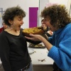 Bedburg Hau, Artoll. met oa. Merel Holleboom en Marjorie Slooff11-1-2015 . dgfoto.