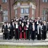 33 pedellen van alle Nederlandse universiteiten op de jaarlijkse pedellendag, ditmaal in Nijmegen. Nijmegen, 10-4-2015 . dgfoto.