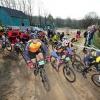 mountainbike: Hel van Groesbeek start, 12-4-2015 . dgfoto.