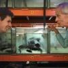 Onderzoeker Wilco Verberk heeft onderzoek gedaan in het vissenlab van de Radboud Universiteit, naar de wijze waarop vissen zaden verspreiden. Nijmegen, 23-4-2015 . dgfoto.