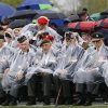canadese militaire begraafplaats. Dodenherdenking. 70 jaar bevrijdt  door Canadese veteranen, Groesbeek 3-5-2015 . dgfoto.