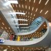 Nieuwe NS stationshal van architekt van Berkel bij het station Arnhem, 9-11-2015 .