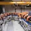 De b?tafaculteit van de Radboud Universiteit opent vrijdag het vernieuwde laserlab en de kas, planten, Vrije electronen laser. Nijmegen, 29-10-2015 .