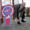 Vierdaagseverhaal Johan Willemstein. Viel uit in Dukenburg. Nijmegen, 4-4-2016 .