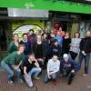 Personeel cafe de Plak. Nijmegen, 6-4-2016 .