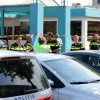 Schietpartij met doden in cafe Malvert en zoektocht met politiehond. Nijmegen, 9-5-2016 .