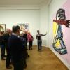 expo Karel Appel in gemeentemuseum Den haag mt Wies en Wim.., 4-3-2016 .
