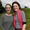 Isa en Michelle beginnen nieuwe school. Nijmegen, 18-4-2016 .