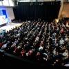 1.200 ondernemers krijgen les van Google in de Vasim, de digitale snelweg. Nijmegen, 22-2-2016 .