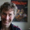 Mark Retera, Striptekenaar heeft Karel de Grote Prijs toegekend gekregen. . Nijmegen, 28-4-2016 .
