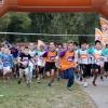 De Kikarun doet zondag voor het eerst Nijmegen (Berendonck bij Wijchen) , 18-9-2016 . Kidsrun