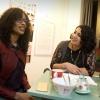 Sylvana Simons met artikel1 partij op campagne bij het Roze Huis. Nijmegen, 5-3-2017 .