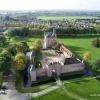 Doornenburg met kasteel, drone. Nijmegen, 12-10-2017 .