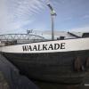 Schip 'de Waalkade ' aan de Waalkade. Nijmegen, 15-3-2017 .