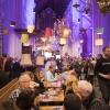 winterbierfestival bij de Stevenskerk. Nijmegen, 14-1-2018 .