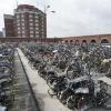 Alle fietsen hadden wegens onderhoud al weg moeten zijn van de fietsenstlling bij het station. Midden in de vakantie gaat de Afac morgen de fietsen weghalen. Nijmegen, 1-5-2018 .